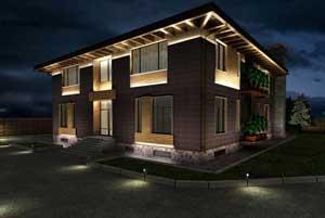 Выбор освещения для частного дома и приусадебной зоны